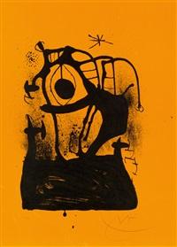 mesmerizer-orange by joan miró