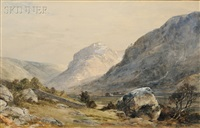 mountain landscape by louis ritter