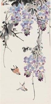 紫藤麻雀 by xiao lang