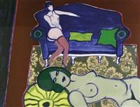 le divan bleu by pierre corneille
