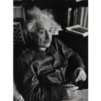 portrait of albert einstein by lotte jacobi