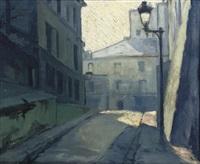 rue des saules, paris by antonius johannes kristians