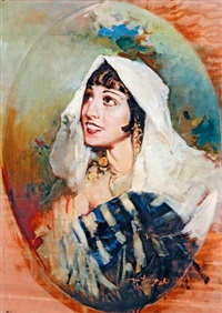 berber lány by romualdo locatelli