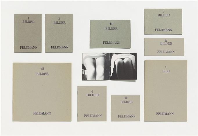 untitled (bilder) (10 artist's books) by hans peter feldmann