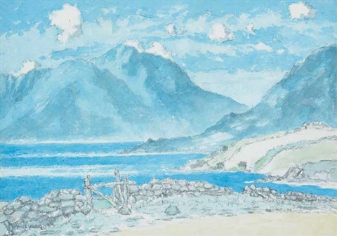 lough mask, county mayo by mabel young