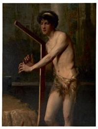 le joueur de harpe by fernand cormon