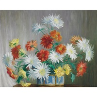 chrysanthemums by beatrice hagarty robertson