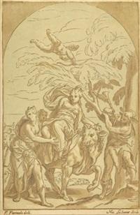 der raub der europa (after p. farinati) by nicolas le sueur