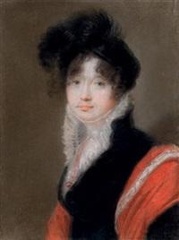 portrait of princess anastasia valentinovna shcherbatov by orest adamovich kiprensky
