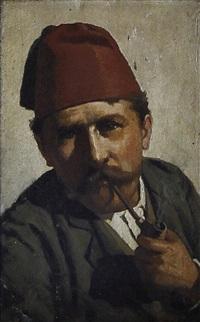 fumatore di pipa by michele cammarano