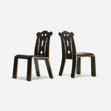chippendale chairs (pair) by robert venturi & Chippendale chairs pair by Robert Venturi on artnet