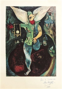 figure-oiseau by marc chagall