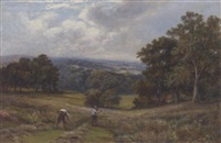 haymaking by william henry waring
