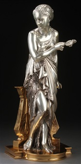 a vestal virgin by auguste joseph peiffer