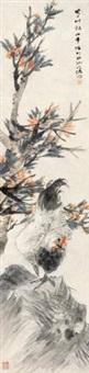 春园鸡鸣 by ren bonian