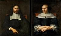 zwei porträts flämischer eheleute (2 works) by anonymous-flemish (17)