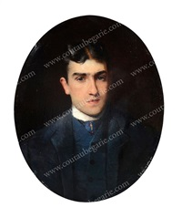 portrait de lucien guitry by konstantin egorovich makovsky