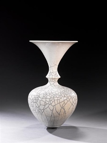 vase with flared neck by david roberts