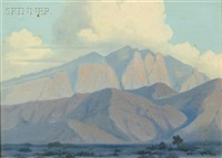sandia mountains by g. barry atwater