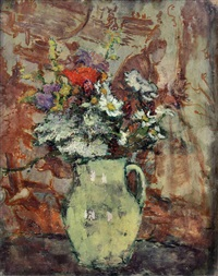 jug of wild flowers by ethel sands