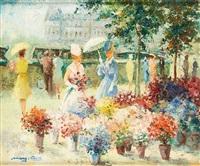 le marché aux fleurs by marguerite aers