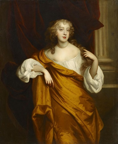 porträt der margaret wharton by sir peter lely