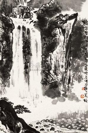 中国山水 by wenda gu