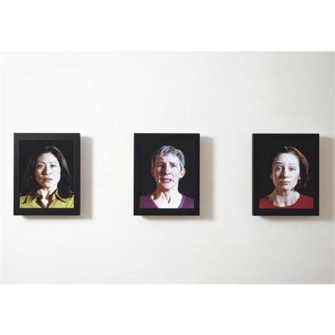 witness triptych by bill viola