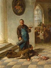 the unfortunate monk by adolf humborg