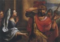 jefte che incontra la figlia by antonio arrigoni