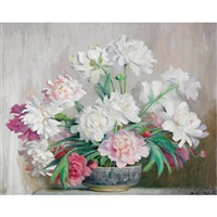 peonies by beatrice hagarty robertson