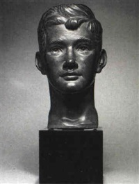 bust of a youth by marion sanford