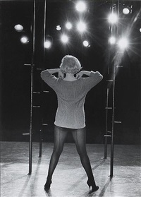 marilyn monroe in the film, le milliardaire by john bryson