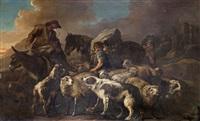 le rassemblement du troupeau by philipp peter roos