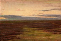 heide bei skagen by michael peter ancher