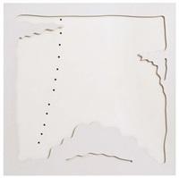 concetto spaziale - teatrino (bianco) - from portfolio by lucio fontana