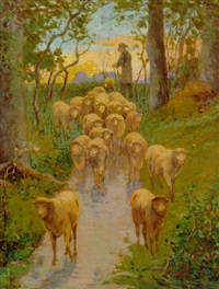 shepherd and his flock by frank enders
