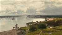 at the courland spit by julius wentscher