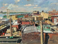 west village roofs by john paul manship