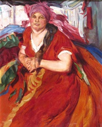 a russian woman by abram efimovich arkhipov