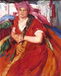 a russian woman by abram efimovich arkhipov