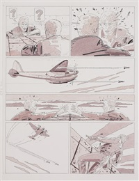 planche n°9 (for l'evasion d'ivan casablanca) by renard