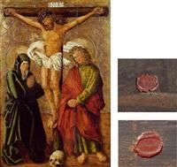 kreuzigung christi mit maria und johannes by austrian school (16)