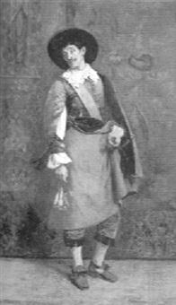 a cavalier by adolphe charles edouard steinheil