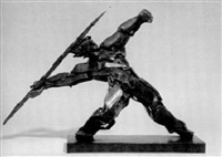 the javelin thrower by constance freedman