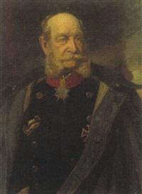 brustbildnis kaiser wilhelm i by theodor ziegler