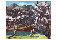 plum woods by katsuyuki nabei