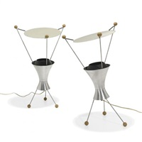 t-c-3 table lamps (pair) by james harvey crate