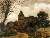 a village church by charles dankmeijer