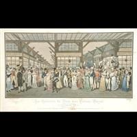 les galeries de bois au palais-royal by louis-ernest (sahib) lesage